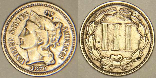 192 Vendre Lot De Pi 232 Ces Usa De 3 Cents 50c Silver Et