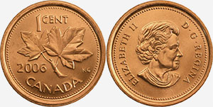 1 cent 2006 - Canada