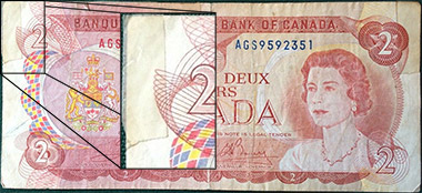 2 dollars 1974 - Tape - Bank of Canada