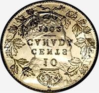 Edward VII (1908) - Obverse - Die clash
