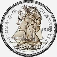 Elizabeth II (1969 to 1978) - Reverse - Die clash