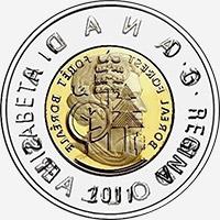 Elizabeth II (2011) - Obverse - Die clash