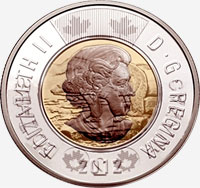 Elizabeth II (2012 to today) - Obverse - Die clash