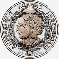 Elizabeth II (2006) - Reverse - Die clash