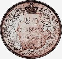Victoria (1870 to 1901) - Reverse - Die clash