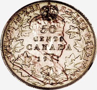 George V (1911 to 1936) - Reverse - Die clash