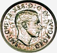 George VI (1937 to 1947) - Reverse - Die clash