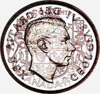George VI (1948 to 1952) - Reverse - Die clash