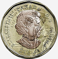 Elizabeth II (2016) - Avers - Coins entrechoqués