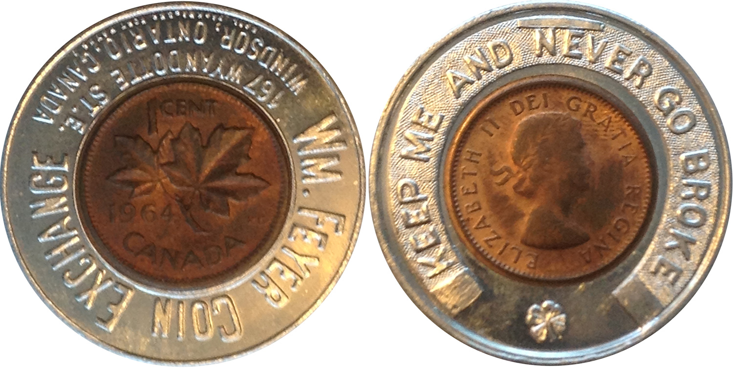 Wm. Feyer Coin Exchange - 1964