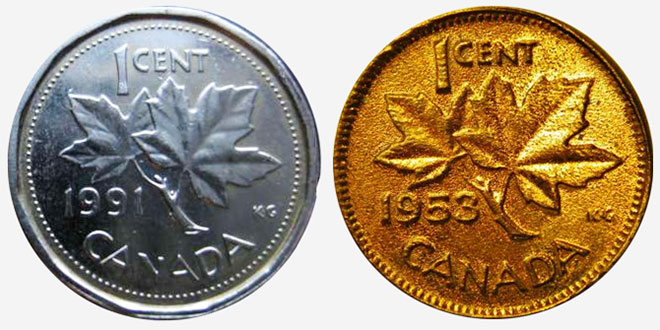 Plated coins