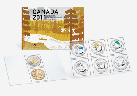 2011 SPECIAL EDITION UNCIRCULATED SET � OUR LEGENDARY NATURE