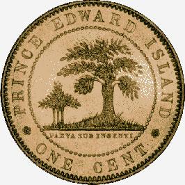 Prince Edward Island: Bronze Cent, 1871
