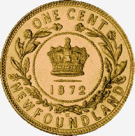 Newfoundland: Bronze Cent, 1872