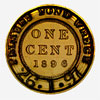 Canada, one cent, Palmers Pond wreck (January 26, 1897)