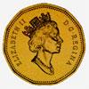 Canada, Elizabeth II, one dollar, 1990