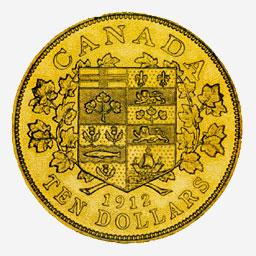 Gold $10, 1912