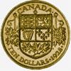 Canada, 10 dollars (bronze pattern), 1928
