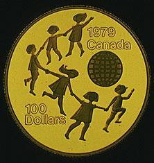 Canada, $100 gold coin, 1979