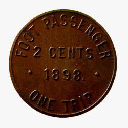Copper Token, Red River and Assiniboine Bridge Co.
