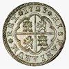 Spain, 2 reales (pistareen), 1723