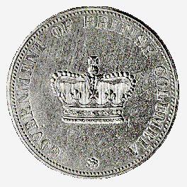 British Columbia, 20 dollars, 1862