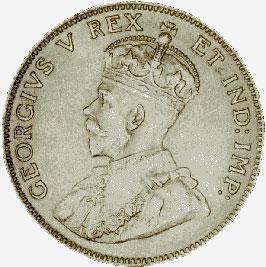 Silver Twenty-Five Cents, 1911