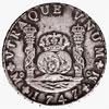 Mexico, 8 reales (pillar dollar), 1747