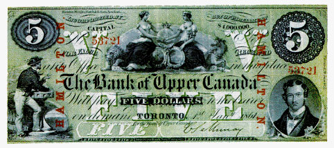Five Dollars, 1861