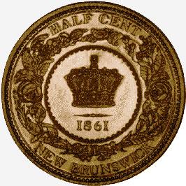 Bronze Half Cent, 1861