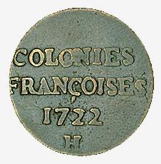 Colonies françoises, La Compagnie des Indes Occidentales, 1722