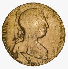 Halfpenny Token, circa 1830