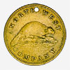 North West Company: Brass Token, 1820