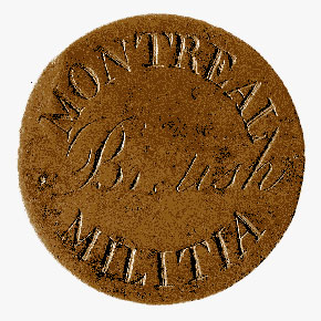 Montreal Militia Button