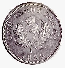 Nova Scotia: Thistle Penny