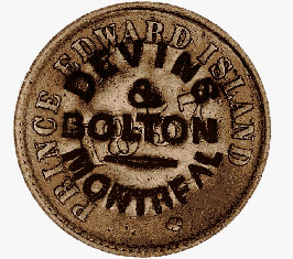 Devins and Bolton Counterstamp