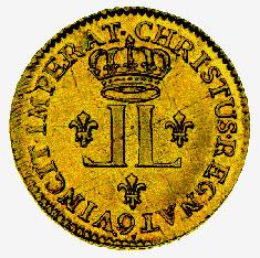 Gold Louis, 1720-23