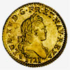 France: Louis XV, Gold Louis, 1721