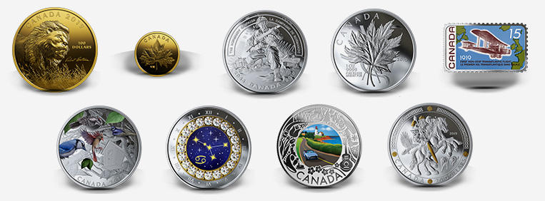 Royal Canadian Mint products - June 2019