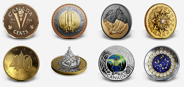 Produits de la Monnaie royale canadienne - Novembre 2019