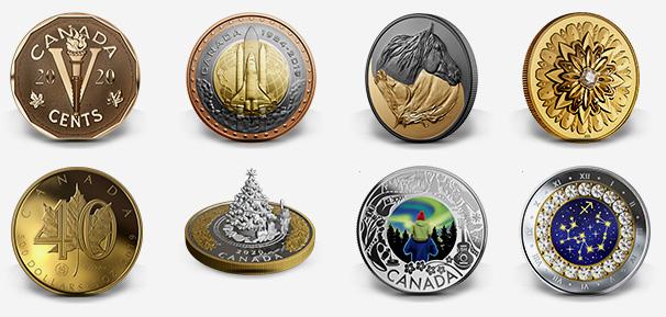 Royal Canadian Mint products - November 2019