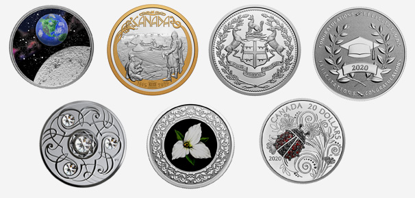 Royal Canadian Mint products