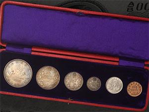 1936 ensemble specimen Point - Canada