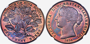 Mayflower Penny 1856 Jeton