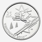 25 cents 2007 - Alpine Skiing