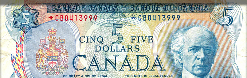 Bank of Canada serial number database