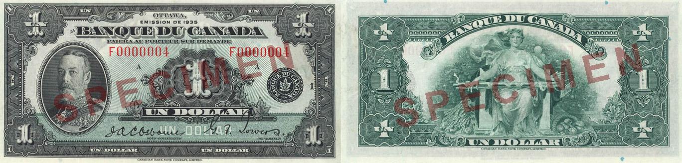 1935 - 1 dollar