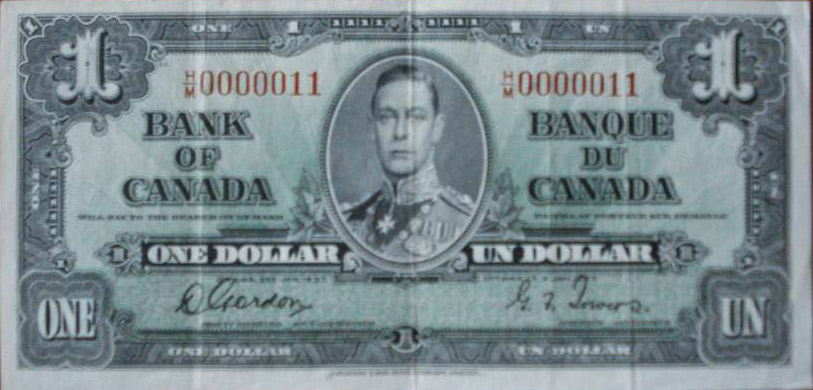 1973 Canada 1 One Dollar BFE Canadian Uncirculated Consecutive Banknotes I442