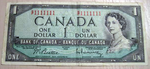 Coins and Canada - Special serial number banknotes - Canadian banknotes