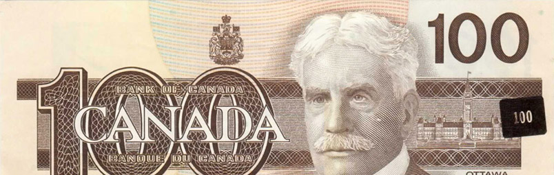 Misplaced or erroneous security element - Errors and varieties - Canada Banknote